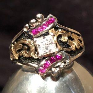 Bob Berg Jewelry - 💥🆕 Bob Berg Square Princess w/Rubies & Dot Ring